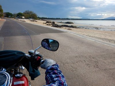 riding beach