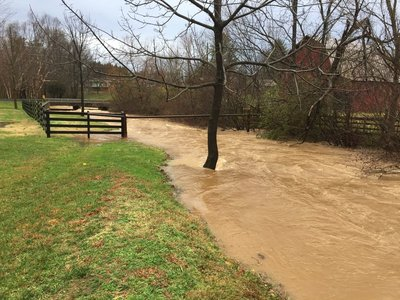 Pine Mountain river overflow