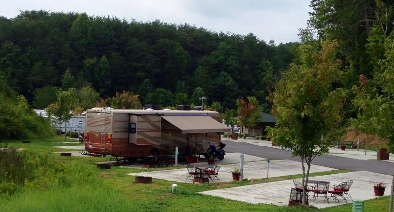 Site at Bear Cove RV Park