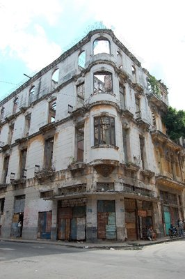 Building in Havana, Cuba