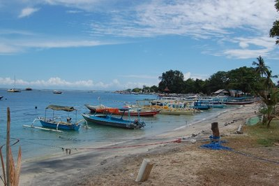 Gili Air beach, Indonesia