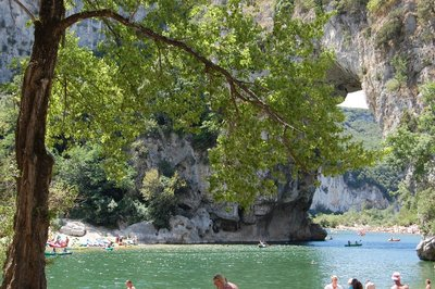 Pon't D'arc in the Ardeche, France (Europe)