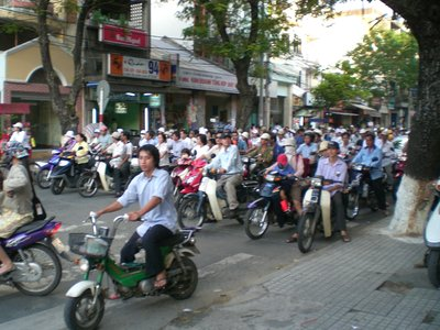 Mad streets of Saigon