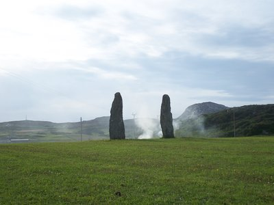 Two Standing Stones, Anglesey