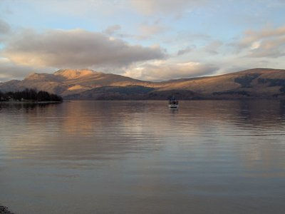 Ben Lomond Across the Loch