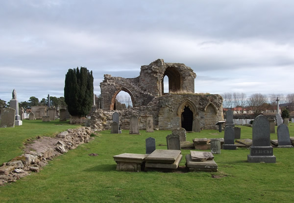 Kinloss Abbey, Scotland