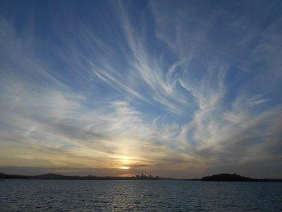 Sunset on Auckland again
