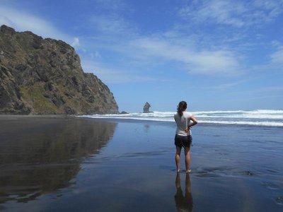 Adeline and the secret beach