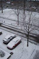 Amsterdam - FootPrints in Snow