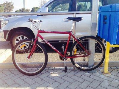 Free bike - left at Perth airport!