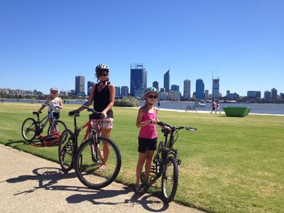 South Perth view of the skyline
