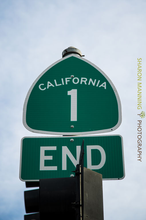 California Route1 Sign