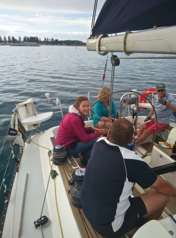 Sailing race in Esperance