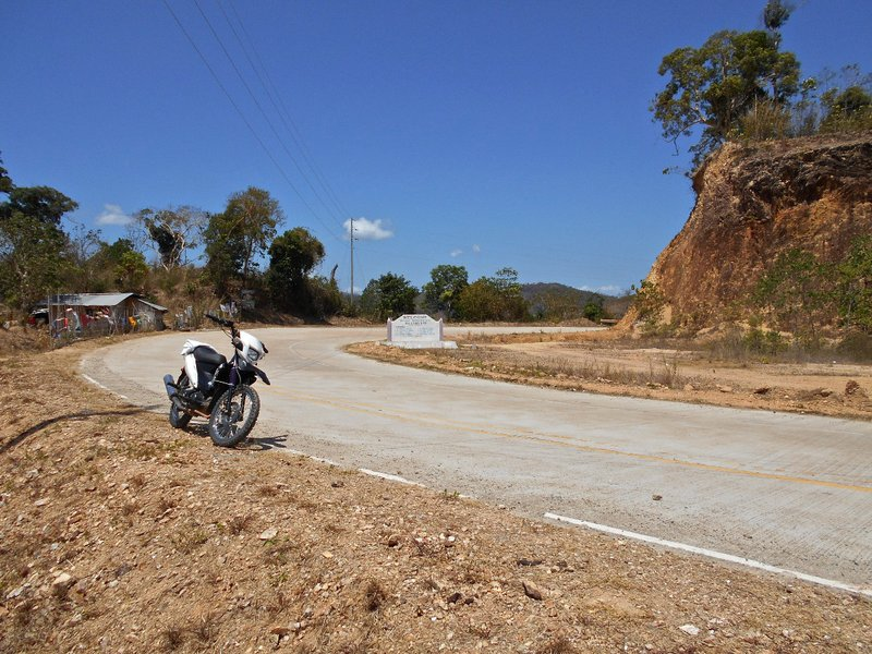 Motorcycling around the island