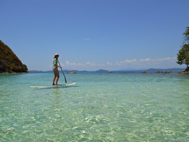SUPing in the Philippines