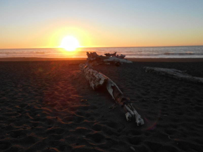 Lost coast sunset