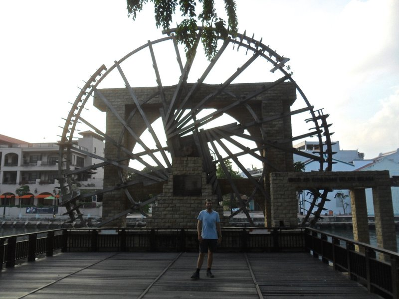 Waterwheel from the colonial times
