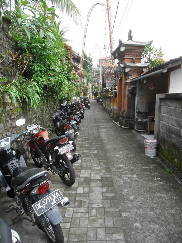 Motorcycles everywhere