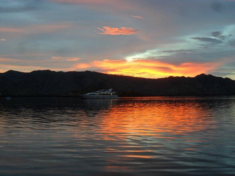 Sunset at Komodo