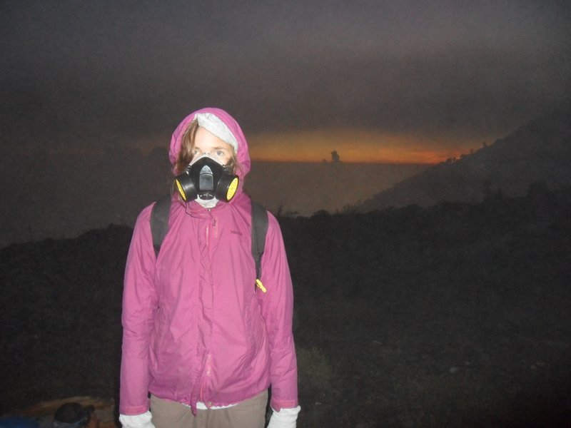 Mask for the sulphur gas