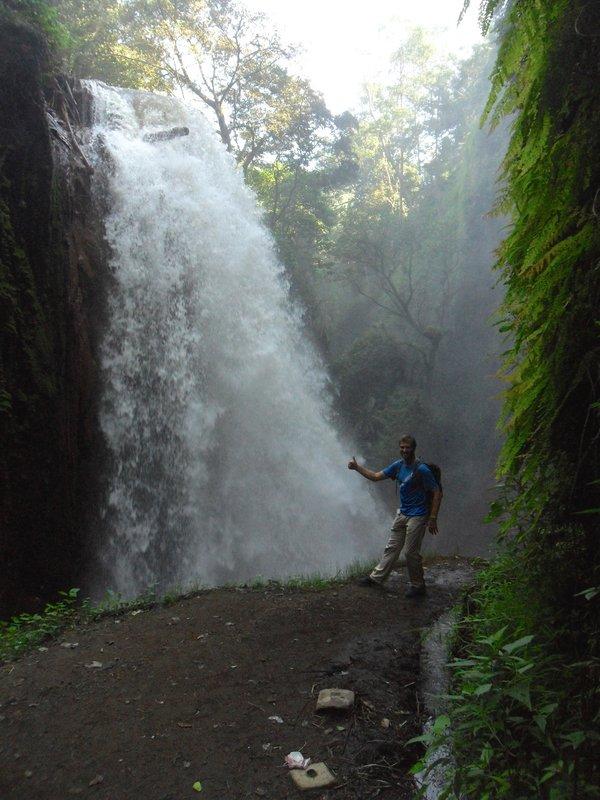 Massive waterfall