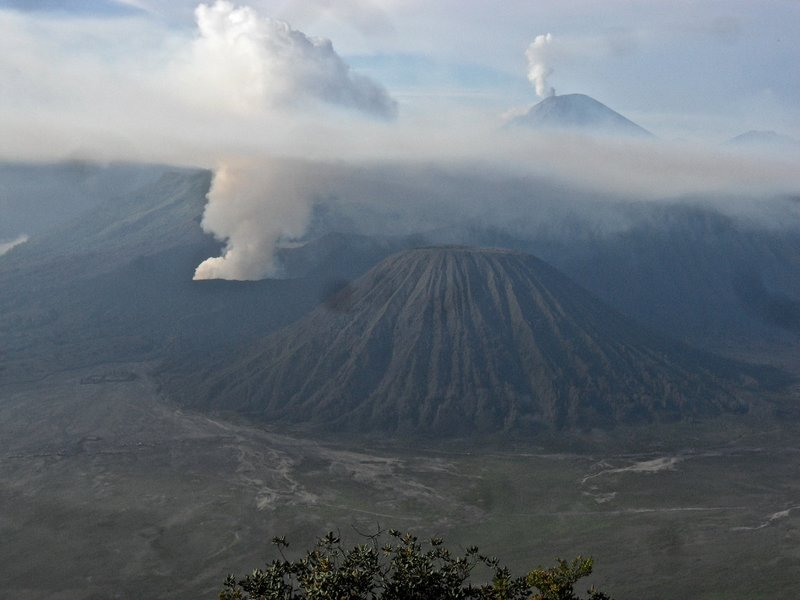 Bromo after clouds disappeared