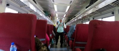 Dancin' on the Copper Canyon Train