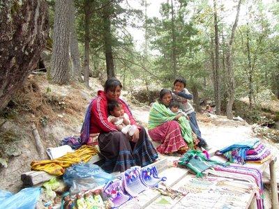 Tarahumara family