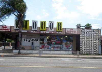liquor and laundry