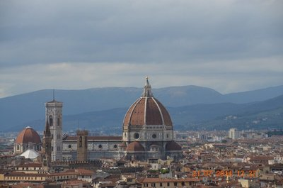 Duomo as seen from Piazzale Michelangelo