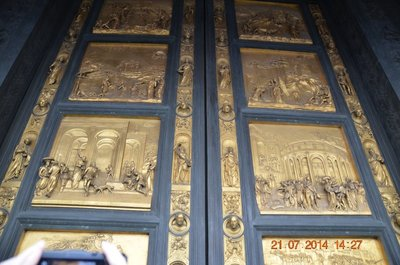 Bronze doors of Baptistry