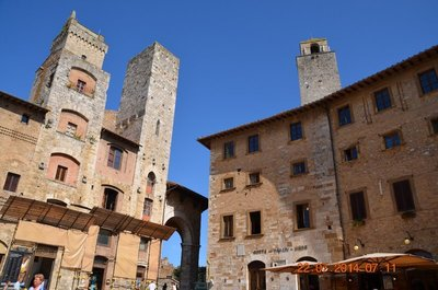 Tower Houses in San Gimignano