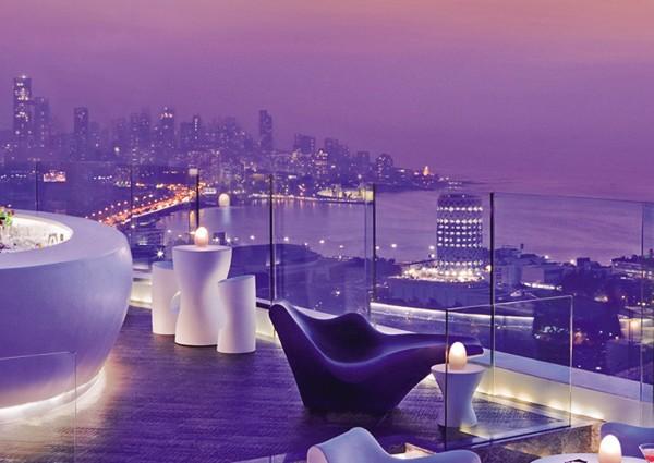 Sur les toits de Mumbai