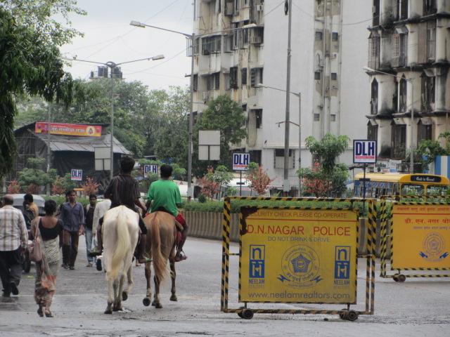 En bus, en rickshaw ou à cheval!