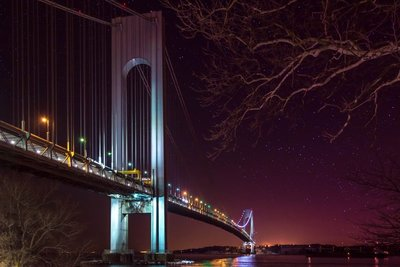 Starry Night at the Verrazano Bridge