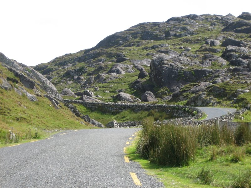 twisty irish road