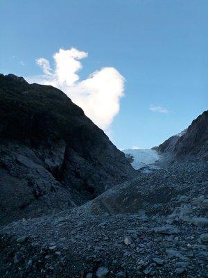 Franz Josef Glacier, Terminal Face.
