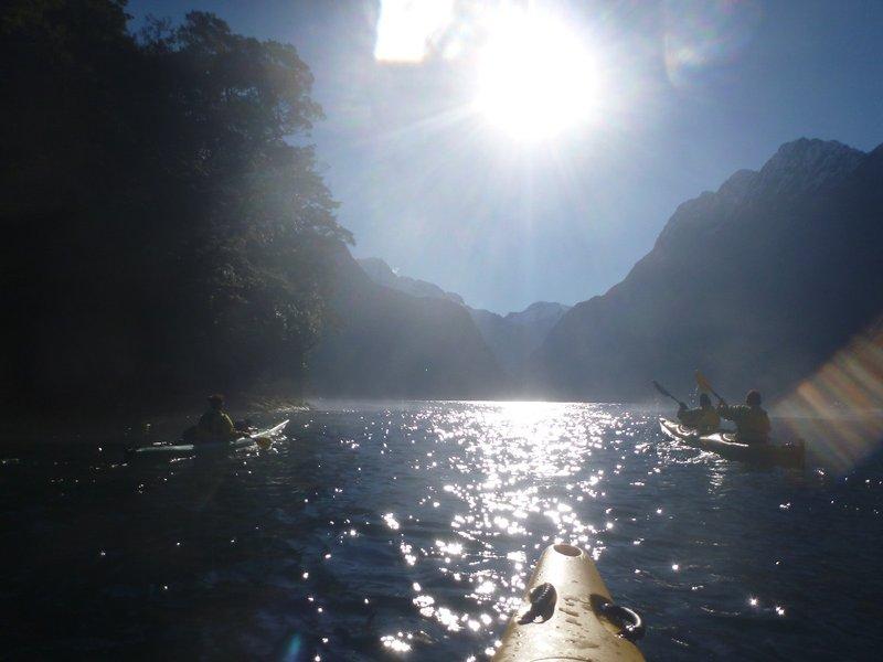 Kayak Milford Sound!