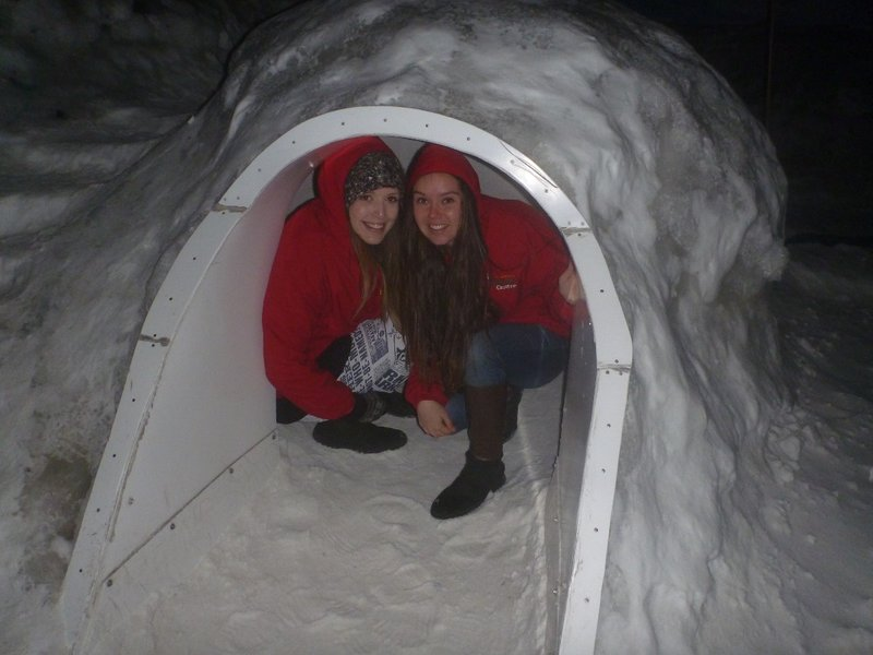 Igloo at the International Antarctic Centre