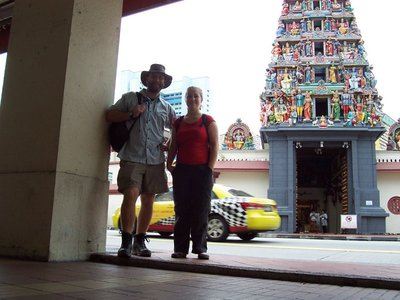 First Temple in Singapore