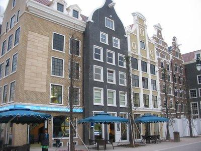 Macau - Dutch style buildings