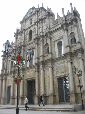 Macau - Ruins of Sao Paolo Church