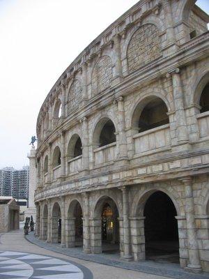 Macau - Roman Colliseum!