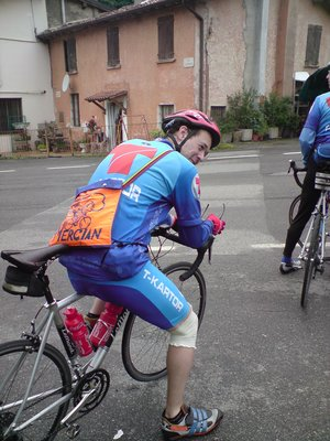 Italy cycle trip day 1 - #6
