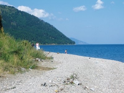 Lake Baikal, near Listvyanka