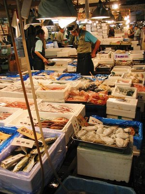 Tokyo - Tsukiji Fish 2