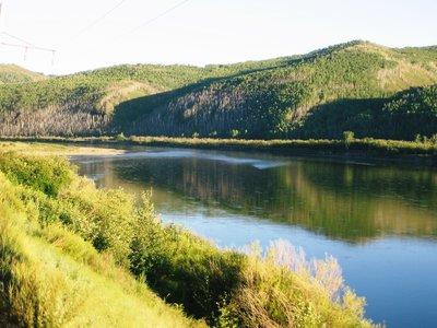 Trans-Sib, view from train East of Chita 2