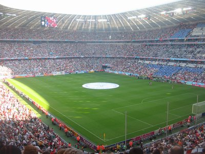 WC Munich - Stadium filling before Tunisia v Saudi Arabia