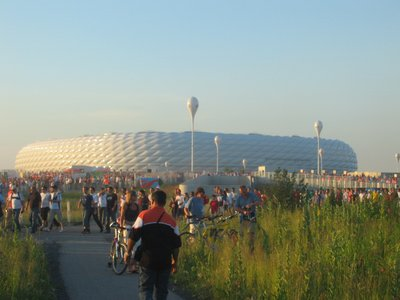 WC Munich - Leaving the stadium after Tunisia v Saudi Arabia
