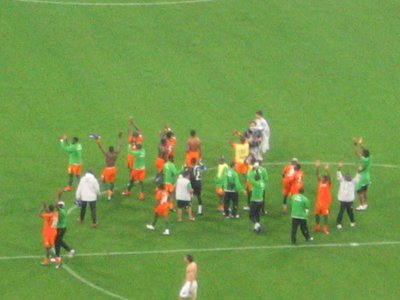 WC Munich - Serbia-Montenegero v Cote d'Ivoire 6